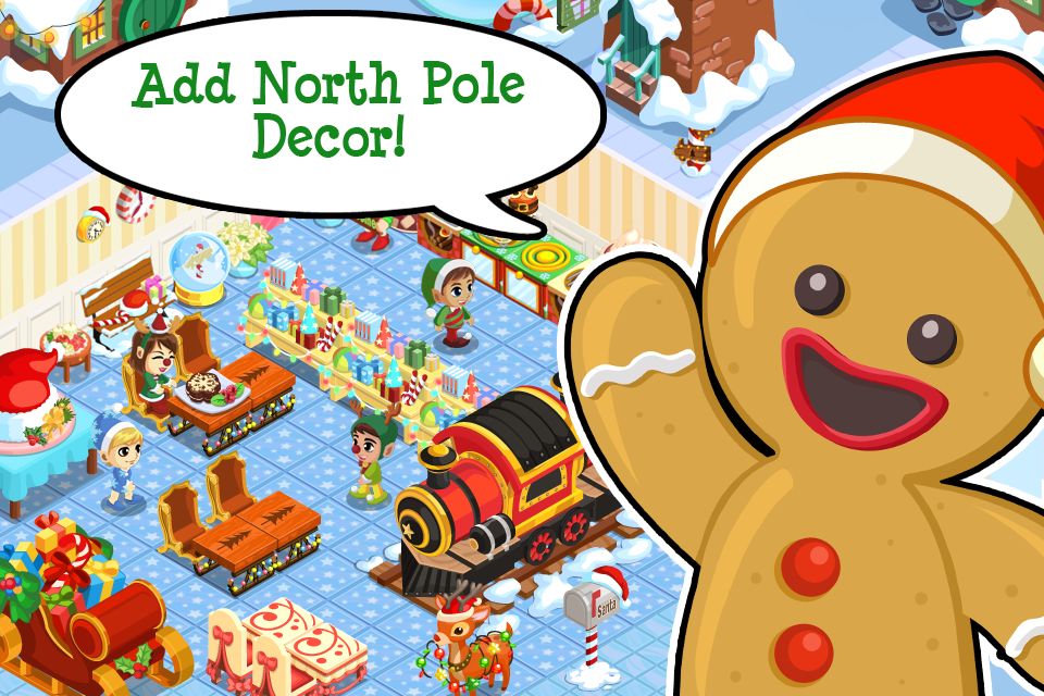 App shopper bakery story christmas games for Bakery story decoration ideas