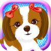 eTrain Mobile Games LLC - A Animal Baby Princess Puppy Dressup - My New Pet Spa Game-s Free  artwork